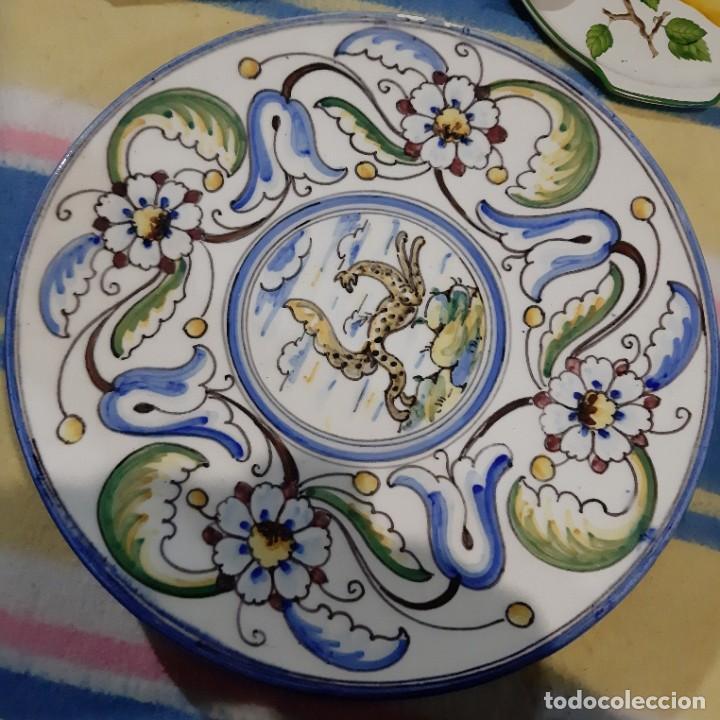 Vintage: gran plato de porcelana - Foto 2 - 194249523