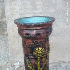 Vintage: BASTONERO - PARAGUERO DE CERAMICA VINTAGE. Lote 194343857