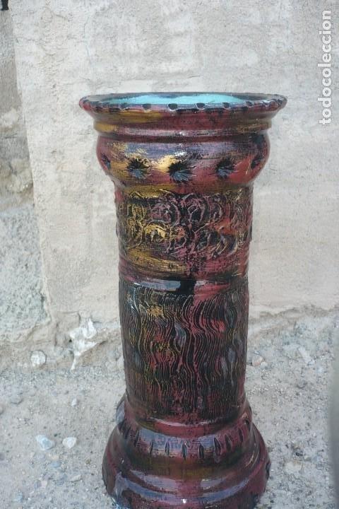 Vintage: Bastonero - Paraguero de Ceramica Vintage - Foto 2 - 194343857