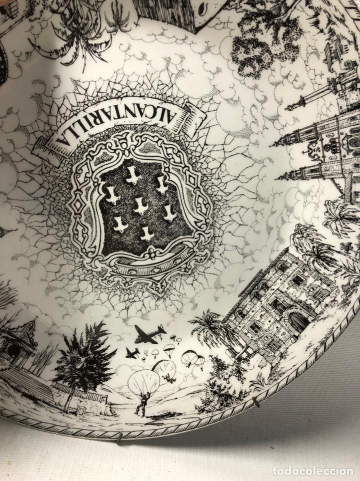 Vintage: PLATO DECORATIVO DEDICADO A ALCANTARILLA ··· VISTA POR E. PALENZUELA ··· - Foto 6 - 194508303