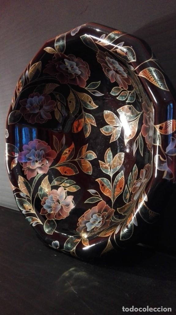 ORIGINAL Y ATREVIDO CENTRO DE MESA CERÁMICO MADE IN ITALY (Vintage - Decoración - Porcelanas y Cerámicas)