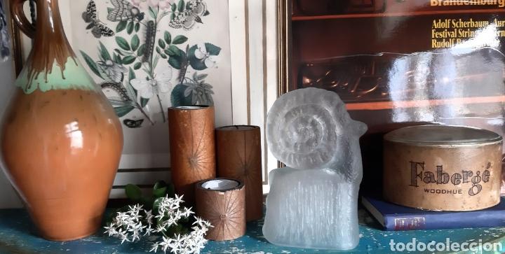 Vintage: CRISTAL CHECO ART GLASS AÑOS 70 - Foto 4 - 194526082