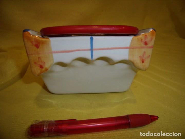 Vintage: Rallador pan, queso, etc. porcelana pintado a mano, años 90, Nuevo sin usar. - Foto 4 - 194601692
