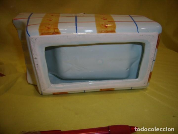 Vintage: Rallador pan, queso, etc. porcelana pintado a mano, años 90, Nuevo sin usar. - Foto 6 - 194601692