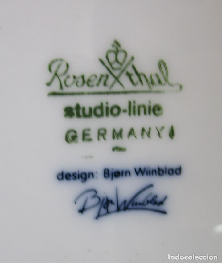 Vintage: Plato CERAMICA Rosenthal Studio Linie Bjorn Wiinblad serie años 50 PAYPAL FACTURA - Foto 5 - 194639295