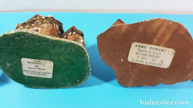Vintage: LIQUIDACION LOTE 24 CASITAS CASAS DE CERAMICA O BARRO + TORRE PISA DE REGALO,VER DESCRIPCION Y FOTOS - Foto 15 - 194877625