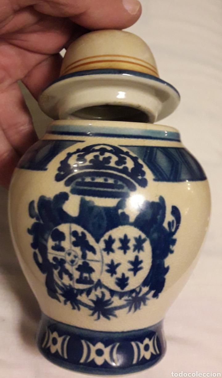 Vintage: Precioso tarro albafello cerámica pintado antiguo - Foto 2 - 194885120