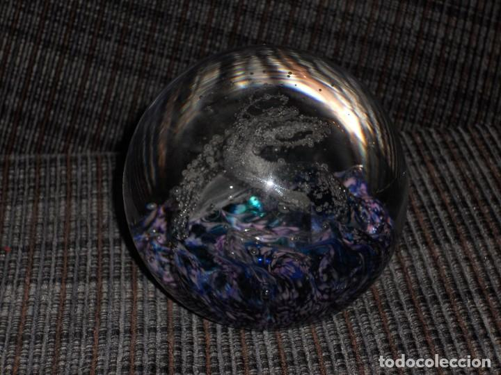 Vintage: IMPRESIONANTE BOLA DE CRISTAL SELKRK GLASS FIRMADA - Foto 11 - 194886017