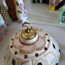 Vintage: LAMPARA PARA TECHO DE PORCELANA. Lote 194890230