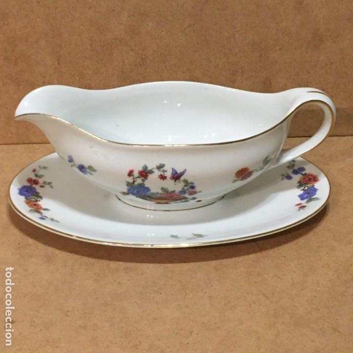 Vintage: Salsera de porcelana de Berlín - Foto 3 - 194890880