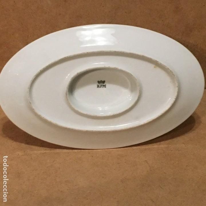 Vintage: Salsera de porcelana de Berlín - Foto 4 - 194890880