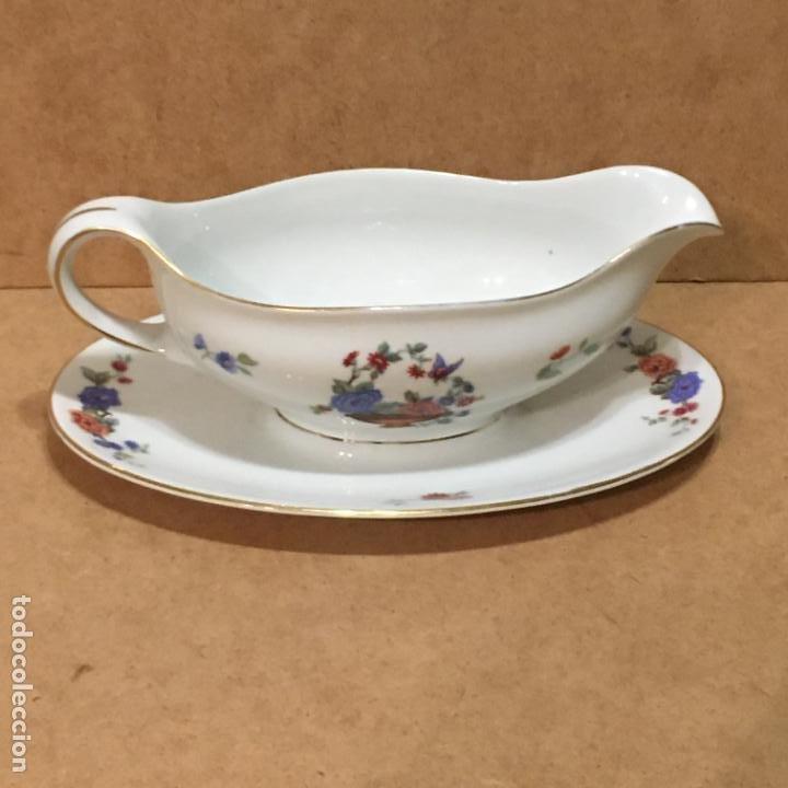 SALSERA DE PORCELANA DE BERLÍN (Vintage - Decoración - Porcelanas y Cerámicas)