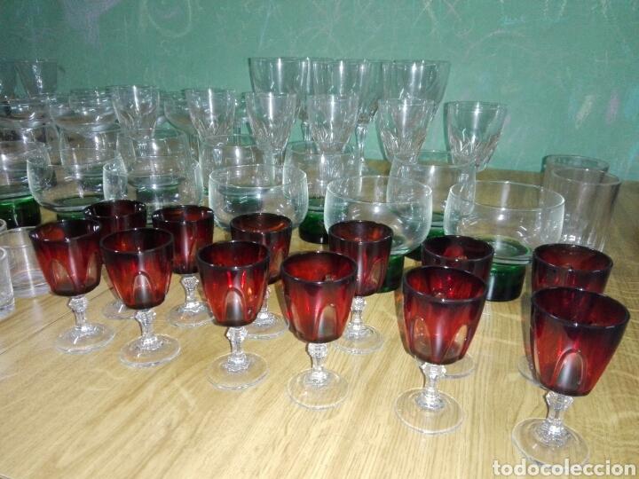 164 PIEZAS DE CRISTAL VINTAGE FRANCÉS, ALEMÁN, ITALIANO, ESPAÑOL (Vintage - Decoración - Cristal y Vidrio)
