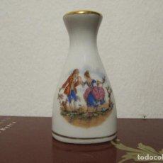 Vintage: SALERO PORCELANA FILOS DORADOS BENIDORM AÑOS 80S. Lote 195144820