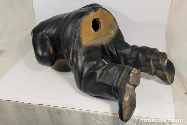 Vintage: figura de el gordo en ceramica de gran tamaño - Foto 2 - 195161071