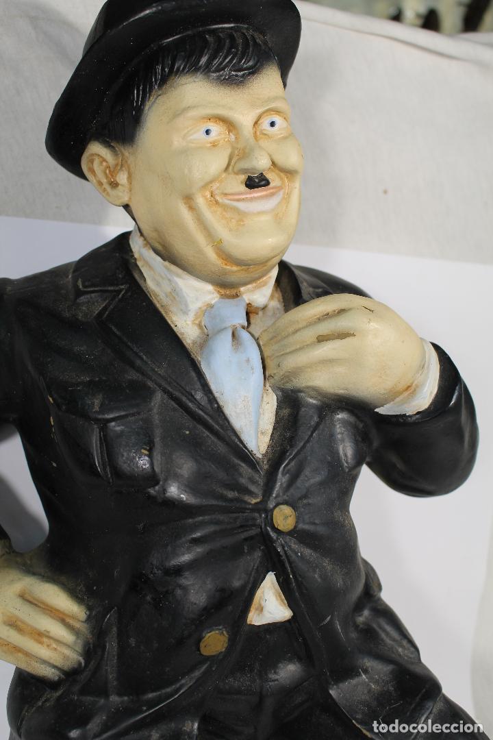 Vintage: figura de el gordo en ceramica de gran tamaño - Foto 3 - 195161071