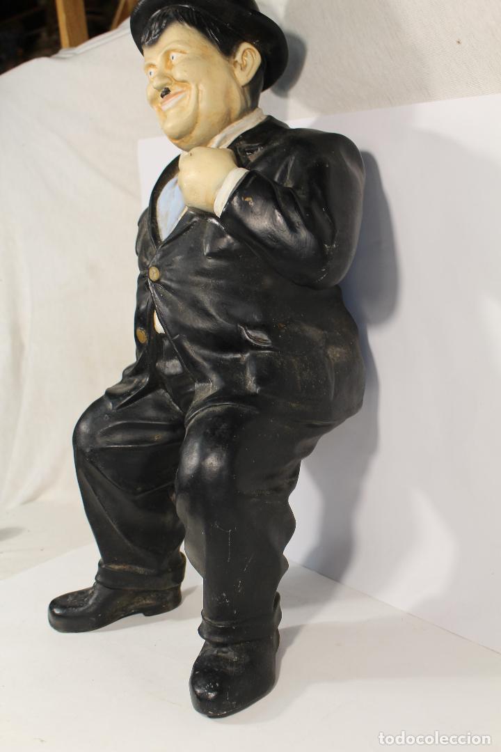 Vintage: figura de el gordo en ceramica de gran tamaño - Foto 4 - 195161071