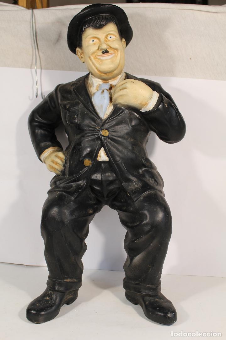 Vintage: figura de el gordo en ceramica de gran tamaño - Foto 5 - 195161071