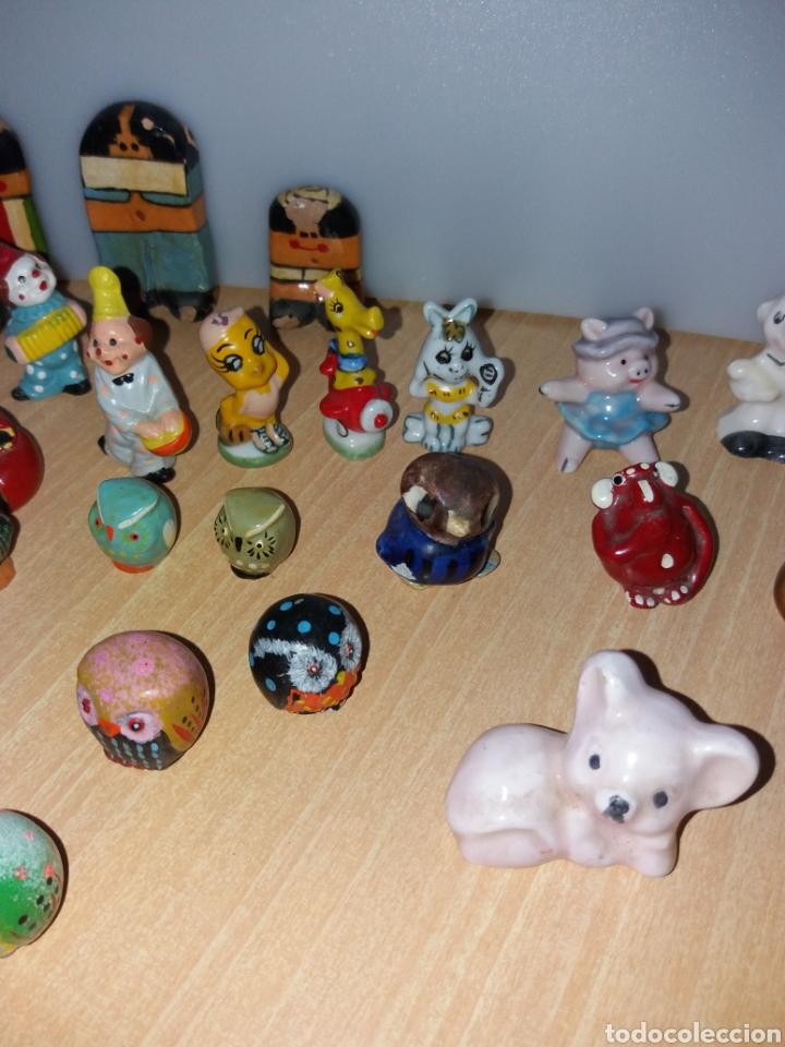 Vintage: Lote figuras en miniaturas antigua - Foto 3 - 195162533