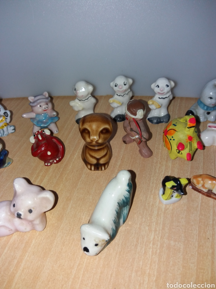 Vintage: Lote figuras en miniaturas antigua - Foto 4 - 195162533
