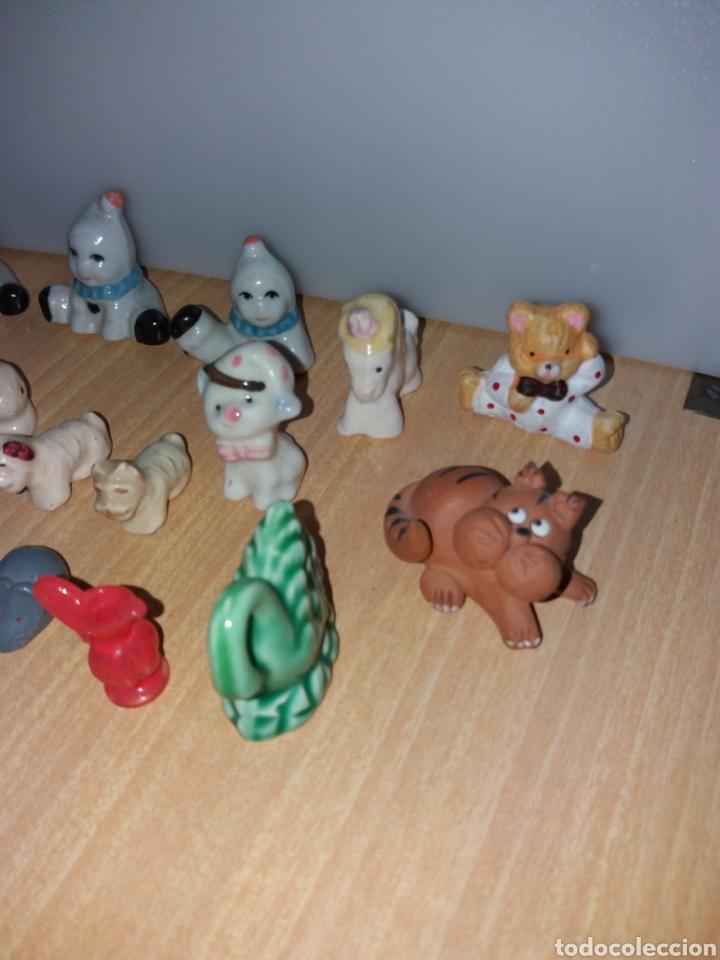 Vintage: Lote figuras en miniaturas antigua - Foto 5 - 195162533