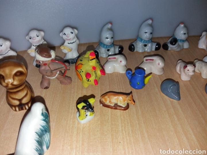 Vintage: Lote figuras en miniaturas antigua - Foto 6 - 195162533