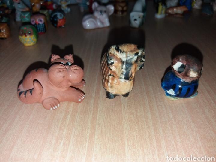 Vintage: Lote figuras en miniaturas antigua - Foto 8 - 195162533