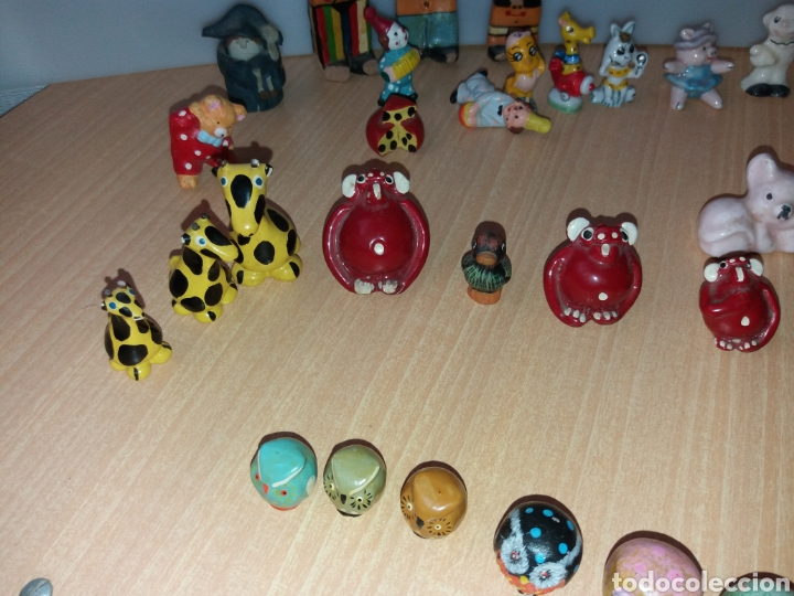 Vintage: Lote figuras en miniaturas antigua - Foto 11 - 195162533