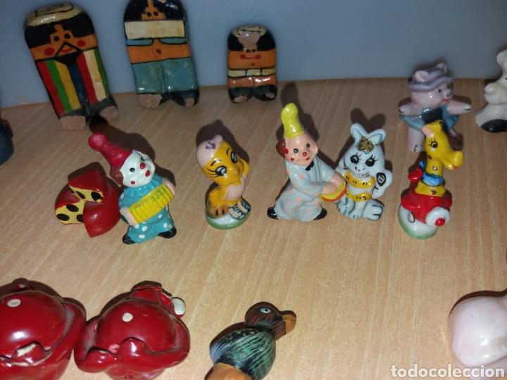 Vintage: Lote figuras en miniaturas antigua - Foto 13 - 195162533