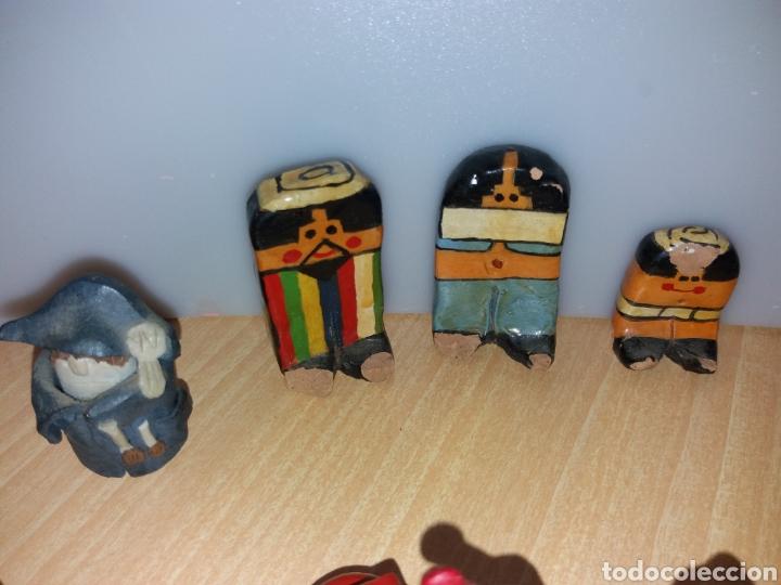 Vintage: Lote figuras en miniaturas antigua - Foto 14 - 195162533