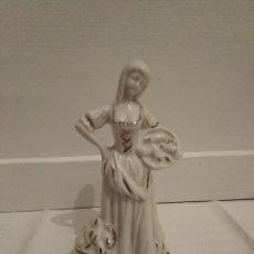 Vintage: BONITA MUJER CON CESTO .. Lote 195297965