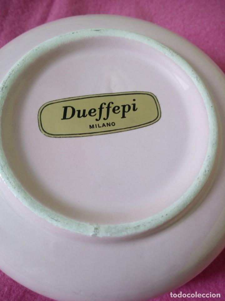Vintage: Precioso joyero de porcelana color roda con rosas, dueffe pi milano - Foto 5 - 195329446