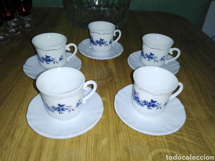 TACITAS Y PLATILLOS VINTAGE FRANCESES (Vintage - Decoración - Porcelanas y Cerámicas)