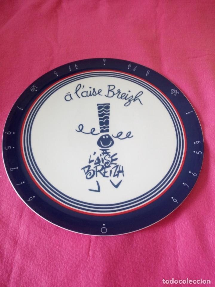 Vintage: Plato de porcelana a l´aise breizh - Foto 2 - 195362355