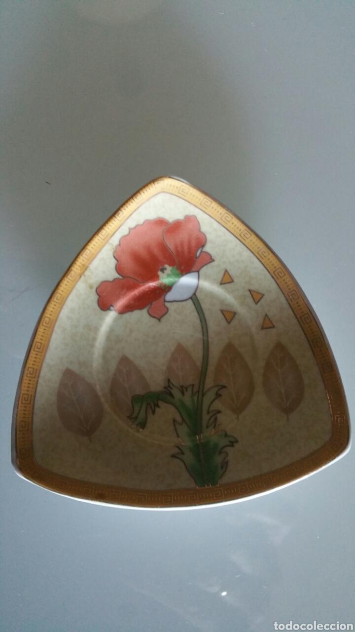 Vintage: Conjunto de 5 platos pequeños de cerámica, YAMASEN. - Foto 2 - 195372348