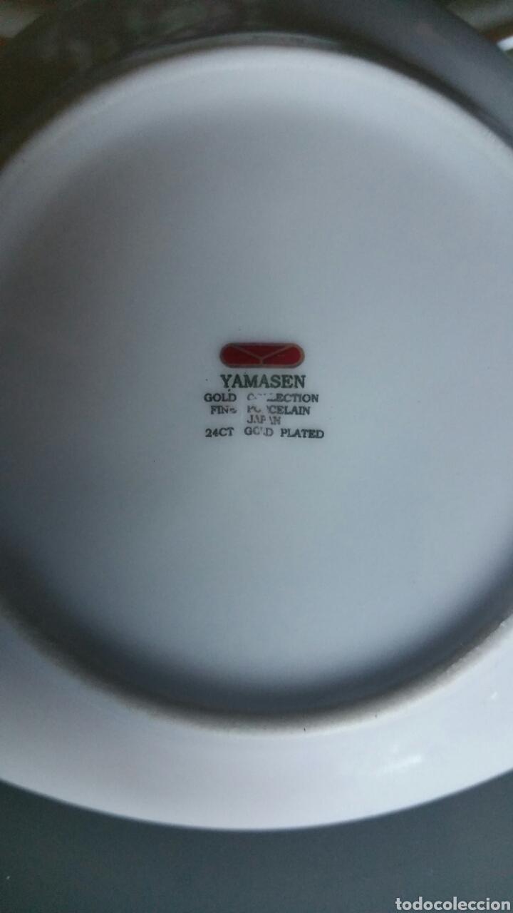 Vintage: Conjunto de 5 platos pequeños de cerámica, YAMASEN. - Foto 4 - 195372348