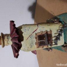 Vintage: BOTELLA DE CRISTAL DECORATIVA RARA. Lote 195458605
