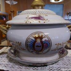 Vintage: SOPERA DE PORCELANA CHINA. Lote 195459678