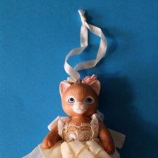 Vintage: FIGURA PORCELANA - KITTY CUCUMBER - GATA BAILARINA - 1992 SCHMID. Lote 195472821