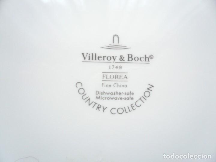 Vintage: MACETERO CUADRADO VILLEROY & BOSCH. COUNTRY COLLECTION - Foto 8 - 195820717