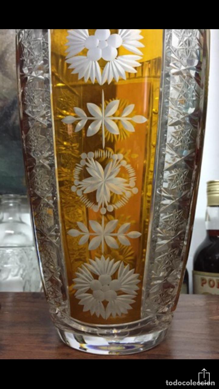 Vintage: Florero Cristal Plomado Julia - Foto 3 - 197260125