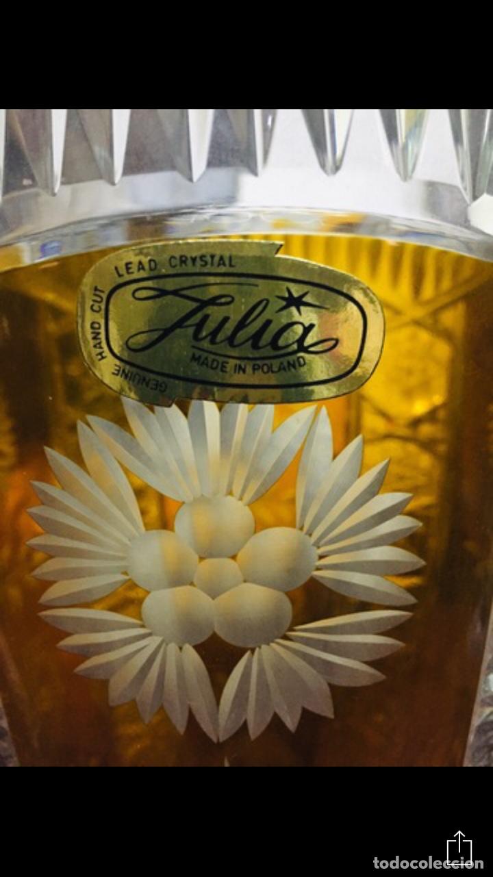 Vintage: Florero Cristal Plomado Julia - Foto 5 - 197260125
