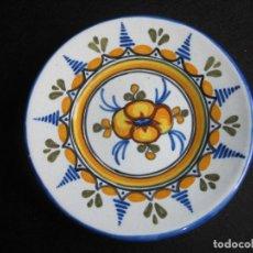 Vintage: PLATO DE TALAVERA EN CERÁMICA DE S. TIMONEDA. Lote 197263858