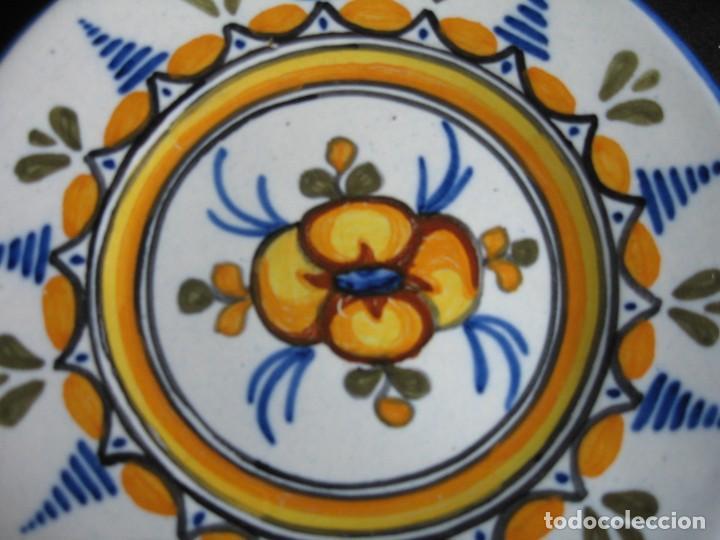 Vintage: PLATO DE TALAVERA EN CERÁMICA DE S. TIMONEDA - Foto 2 - 197263858