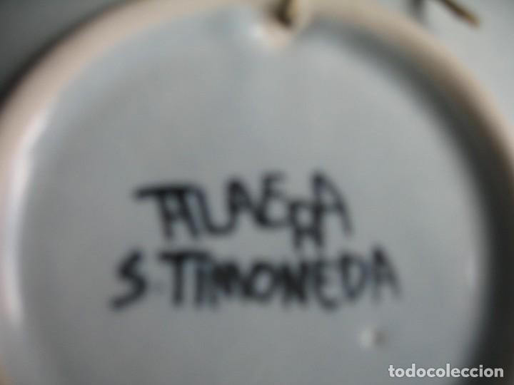 Vintage: PLATO DE TALAVERA EN CERÁMICA DE S. TIMONEDA - Foto 4 - 197263858