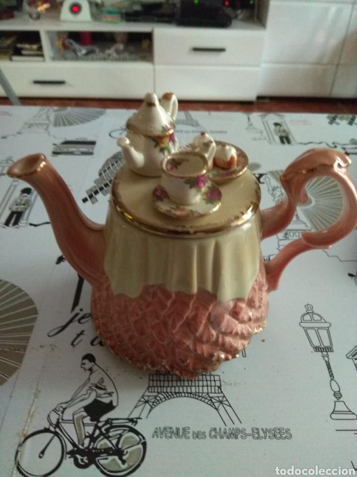 TETERA ROYAL ALBERT (Vintage - Decoración - Porcelanas y Cerámicas)