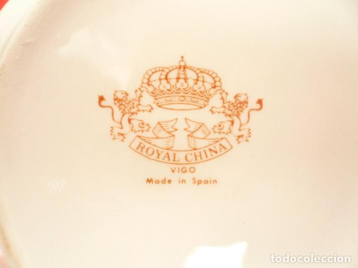 Vintage: JUEGO DE CAFÉ TU Y YO ROYAL CHINA VIGO. VINTAGE - Foto 4 - 200084428