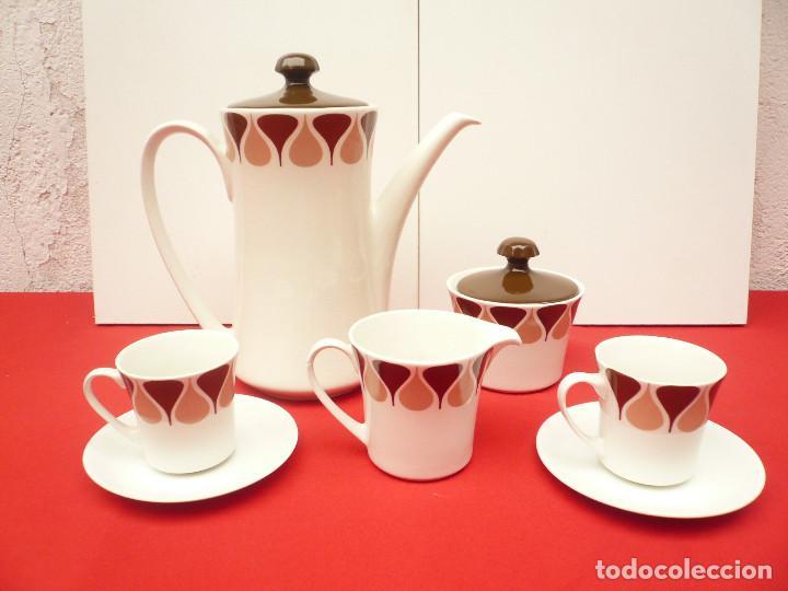 Vintage: JUEGO DE CAFÉ TU Y YO ROYAL CHINA VIGO. VINTAGE - Foto 6 - 200084428