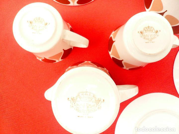 Vintage: JUEGO DE CAFÉ TU Y YO ROYAL CHINA VIGO. VINTAGE - Foto 8 - 200084428