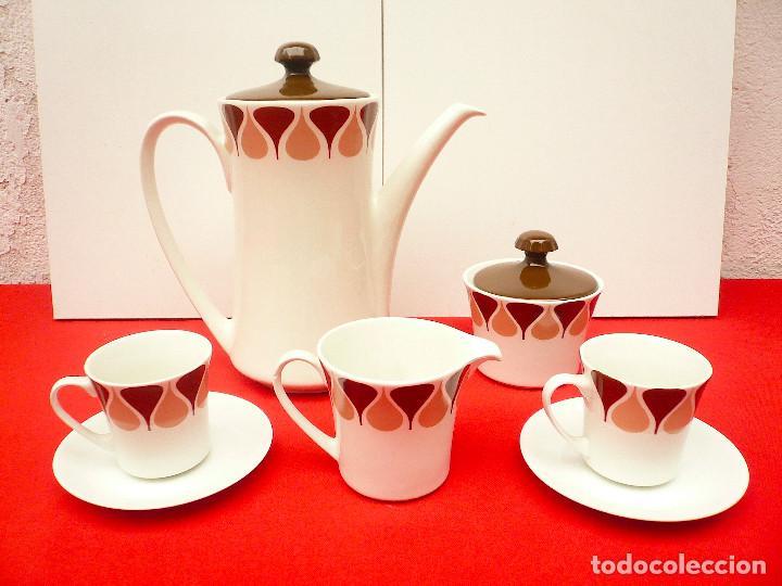 Vintage: JUEGO DE CAFÉ TU Y YO ROYAL CHINA VIGO. VINTAGE - Foto 9 - 200084428